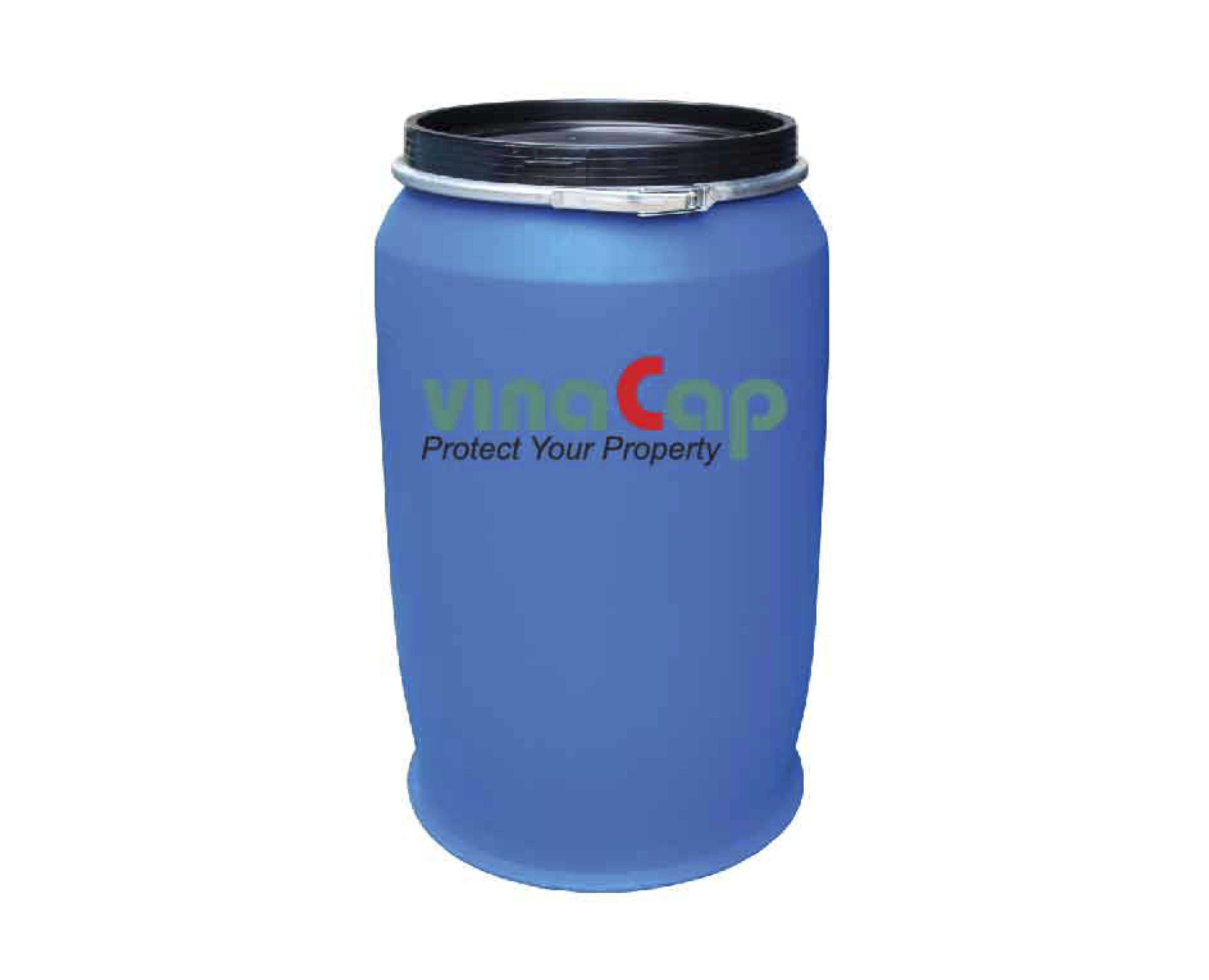 Thùng Phuy Nhựa Nắp Mở 220 Lít